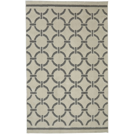 Mohawk Home Loft Stitched Circles Rectangular Rugs