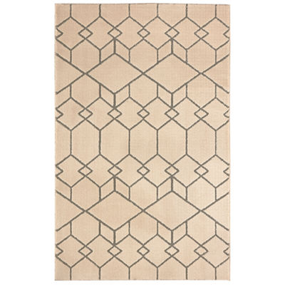 Mohawk Home Loft Interlocking Blocks Rectangular Indoor Rugs