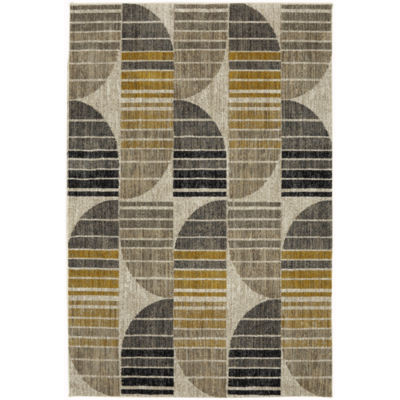 Mohawk Home Metropolitan Crescent Rectangular Indoor Rugs