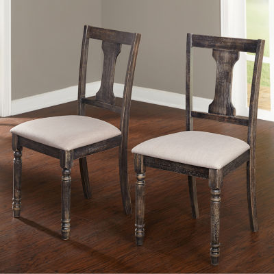 Burntwood 2-pc. Side Chair