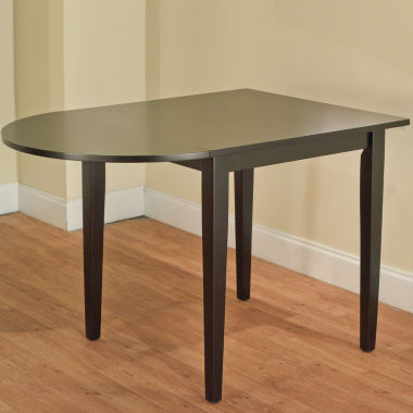 Tiffany Wood-Top Dining Table