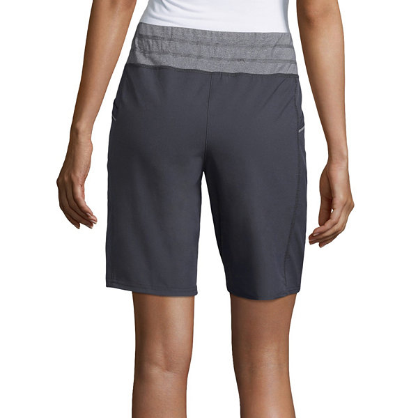 "St. John's Bay Active 9 1/2"" Woven Workout Shorts"