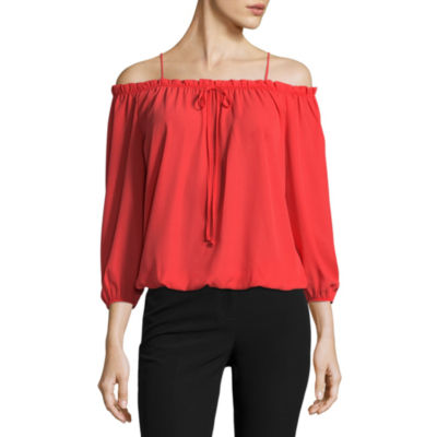 Worthington Off Shoulder Blouse
