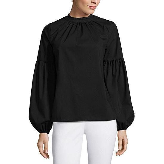 Worthington Volume Sleeve Shirt