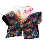 JoJo Siwa Large Signature Hair Bow Multi Color w/Sequins