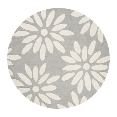 Safavieh Kids Collection Maras Floral Round Area Rug