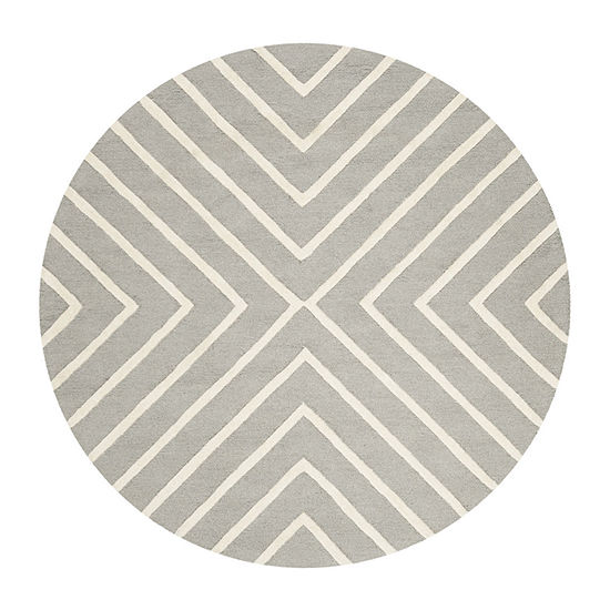 Safavieh Kids Collection Seachlann Geometric Round Area Rug