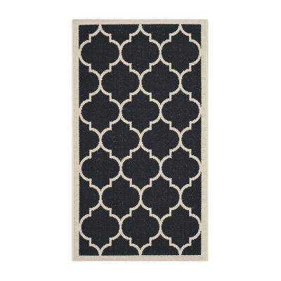 Safavieh Courtyard Collection Amias Geometric Indoor/Outdoor Area Rug