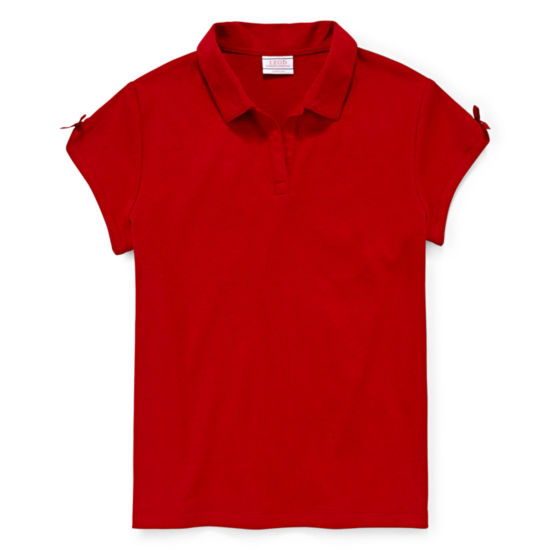IZOD® Exclusive Short-Sleeve Polo - Girls 4-18 and Plus