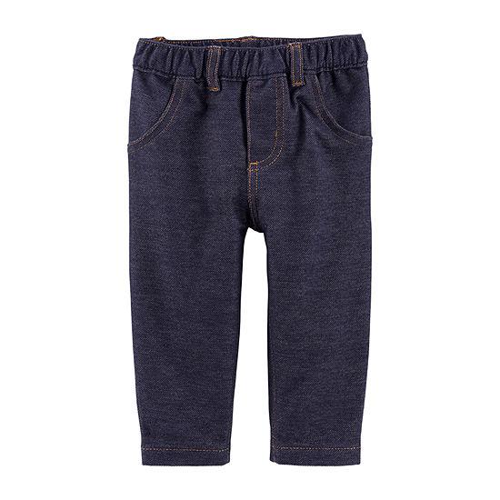 Carter's Girls Skinny Pull-On Pants - Baby