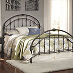 Signature Design by Ashley® Nashville Bronze Metal Bed