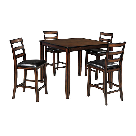 Signature Design by Ashley®  Coviar 5-Piece Counter Height Dining Set