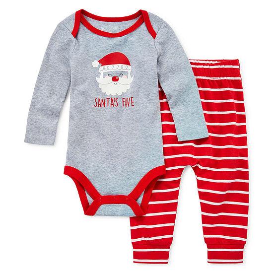 Okie Dokie 2-pc. Bodysuit Set-Baby Boys