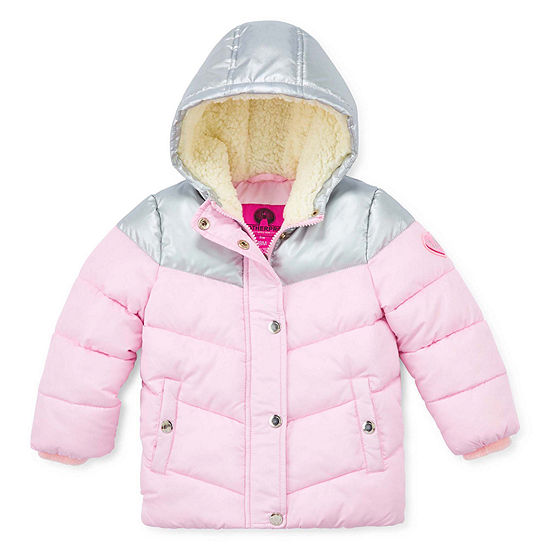 Carter's - Girls Midweight Puffer Jacket-Baby