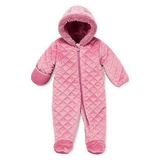 Weatherproof-Baby Girls Heavyweight Snow Suit
