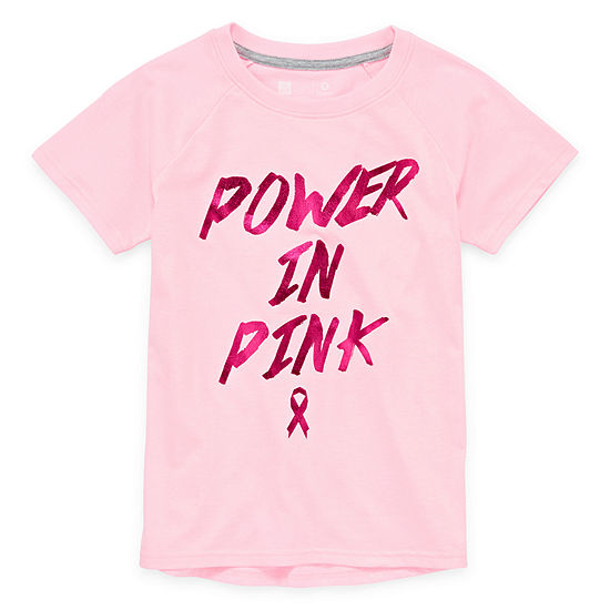 Xersion Girls Round Neck Short Sleeve Graphic T-Shirt - Preschool / Big Kid