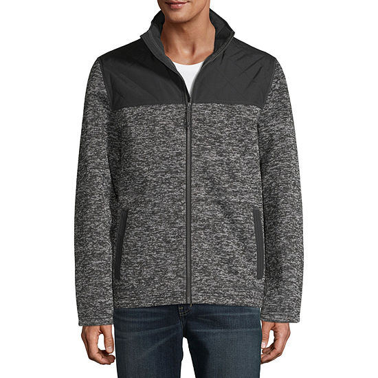 St. John's Bay Sweater Fleece Lightweight Fleece Jacket