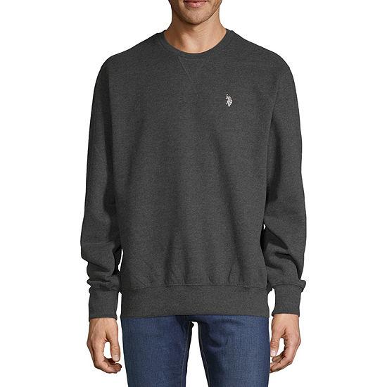 U.S. Polo Assn. Mens Crew Neck Long Sleeve Sweatshirt