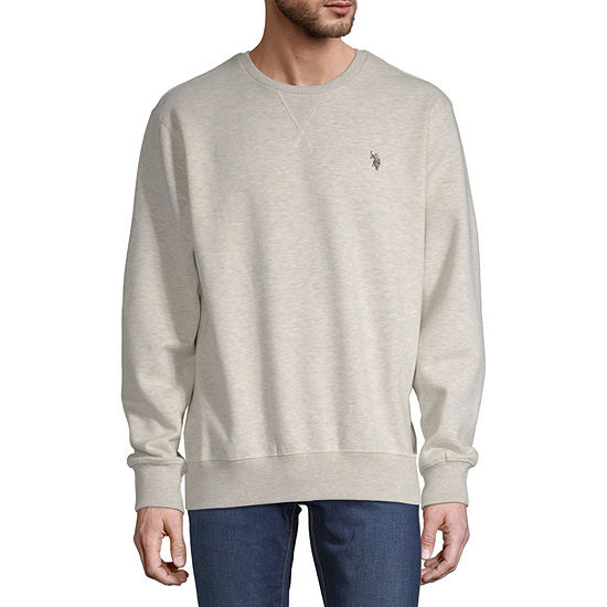 U.S. Polo Assn. Mens Crew Neck Long Sleeve Sweatshirt