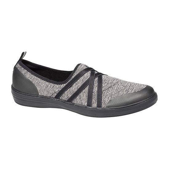 Grasshoppers Womens Eclipse Slip-On Shoe Round Toe