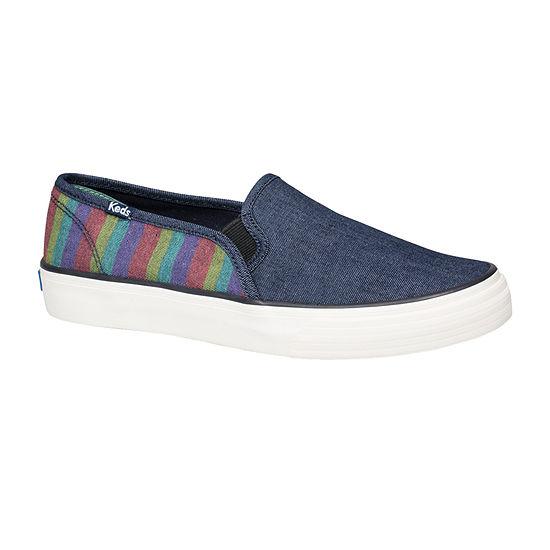 Keds Womens Double Decker Round Toe Slip-On Shoe