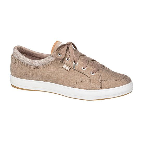 Keds Womens Center Round Toe Slip On Shoe