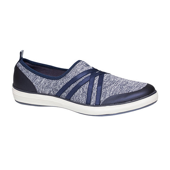 Grasshoppers Womens Eclipse Round Toe Slip-On Shoe