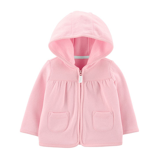 Carter's Baby Girls Hooded Neck Long Sleeve Cardigan