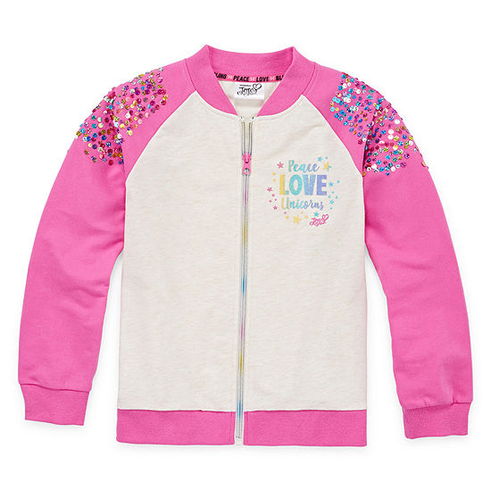 Jojo Siwa Little & Big Girls Lightweight Bomber Jacket
