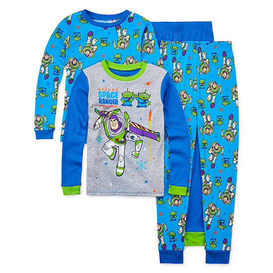 Disney Little & Big Boys 4-pc. Toy Story Pajama Set
