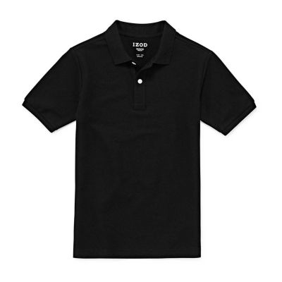 IZOD Pique Little & Big Boys Short Sleeve Stretch Polo Shirt