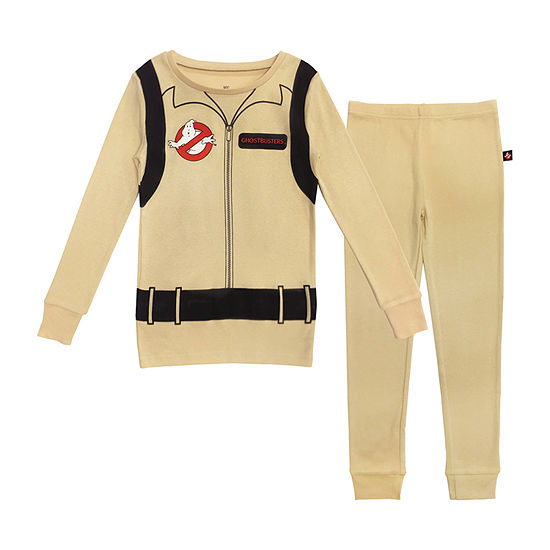 Ghostbusters Kids Family Little & Big Unisex 2-pc. Ghostbusters Halloween Pajama Set