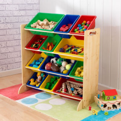 KidKraft® Sort It & Store It Bin Unit