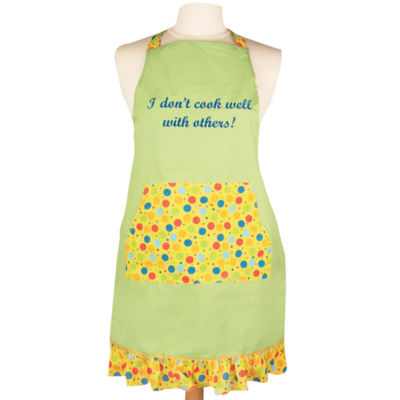 Women's I Don't Cook Well with Others Apron