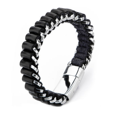 Inox Mens Jewelry Mens Stainless Steel Wrap Bracelet
