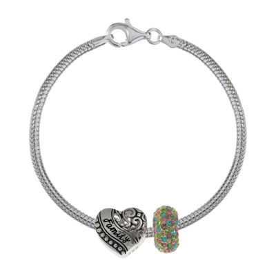 Forever Moments™ Family 3-pc. Bracelet and Beads Set