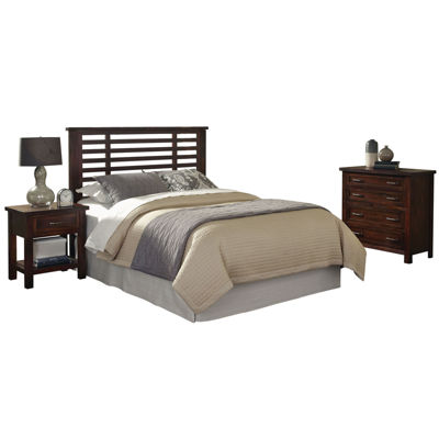Mountain Lodge Headboard, Nightstand and Chest