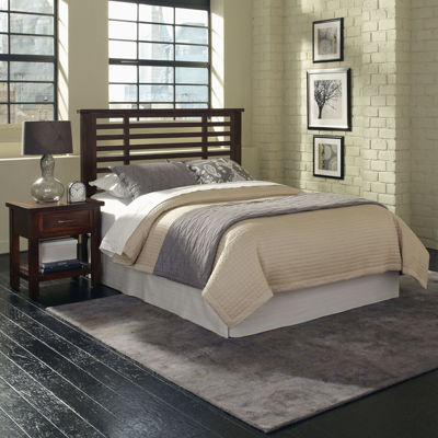 Mountain Lodge Headboard and Nightstand