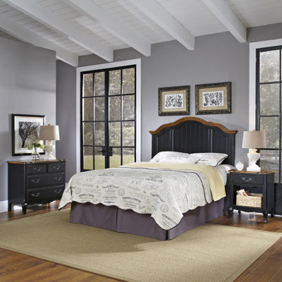 Beaumont Headboard, Nightstand and 4-Drawer Chest Set