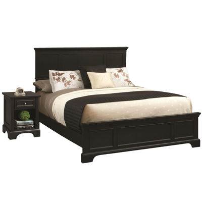 Rockbridge Bed and Nightstand