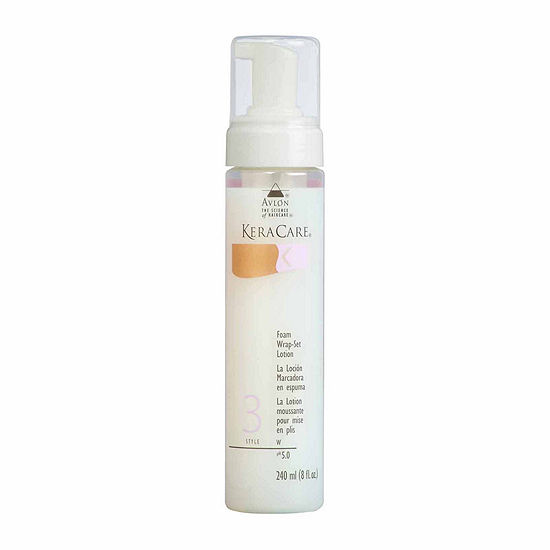 KeraCare® Foam Wrap-Set Lotion - 8 oz.