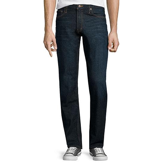 Arizona Mens Mid Rise Original Fit Bootcut Jean