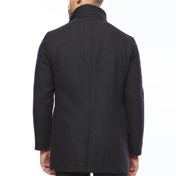Collection by Michael Strahan™ Charcoal Wool Overcoat