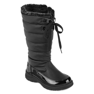 Totes Little Kid/Big Kid Girls Waterproof Winter Boots Lace-up