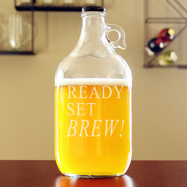 Cathy's Concepts Ready Set Brew! Beer Growler