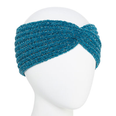 Mixit Chenille Shine Headband Ear Warmers