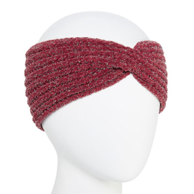 Mixit Chenille Shine Headband Ear Warmers