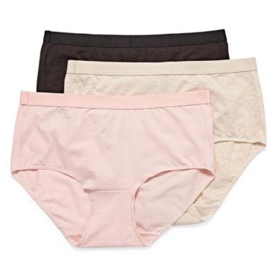 Hanes Ultimate™ Constant Comfort® X-Temp® 3 Pair Knit Brief Panty 40xtb5