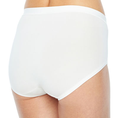 Hanes Ultimate™ Cool Comfort™ Low Rise 4-pc. Microfiber Brief Panty Hxmfbf