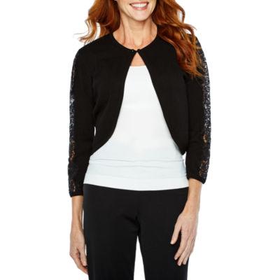Ronni Nicole Shrugs 3/4 Sleeve Shrug